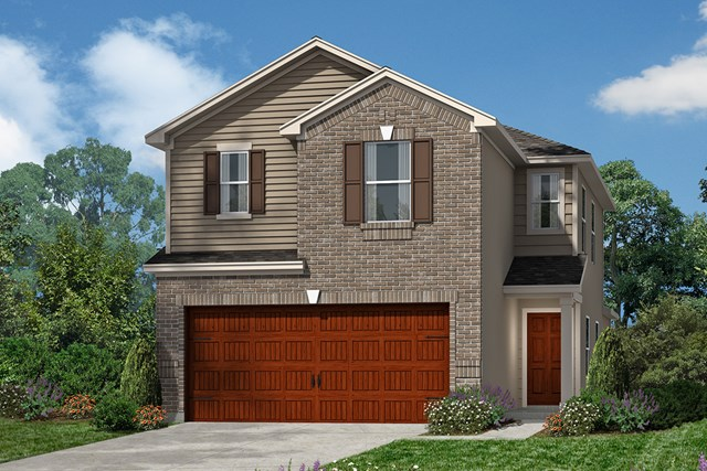 New Homes in Houston, TX - Plan 1663 Elevation D
