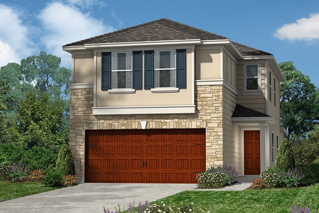 New Homes in Houston, TX - Plan 1663 Elevation F