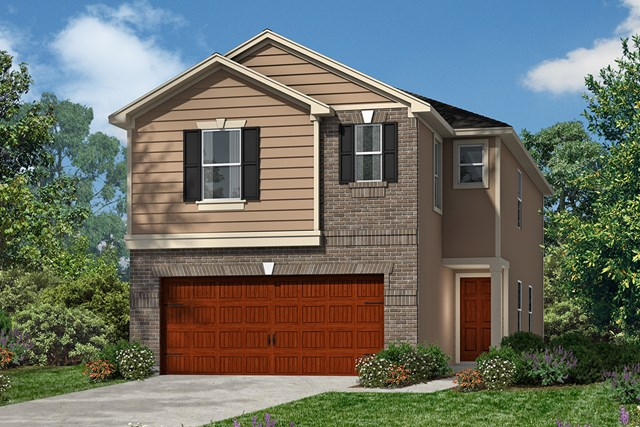 New Homes in Houston, TX - Plan 1855 Elevation D