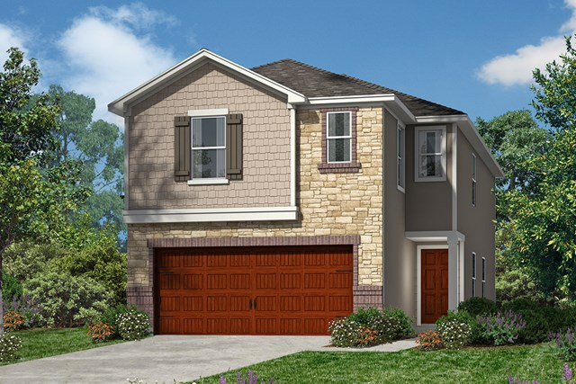 New Homes in Houston, TX - Plan 1855 Elevation E