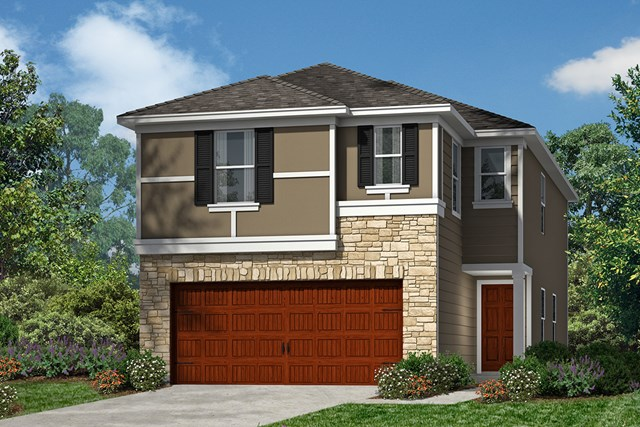 New Homes in Houston, TX - Plan 1855 Elevation F