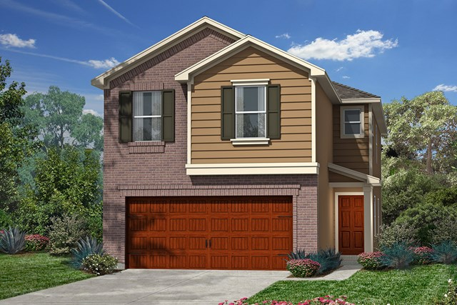 New Homes in Houston, TX - Plan 1930 Elevation D