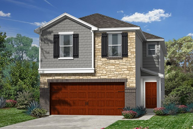 New Homes in Houston, TX - Plan 1930 Elevation E