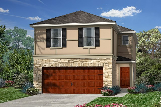 New Homes in Houston, TX - Plan 1930 Elevation F