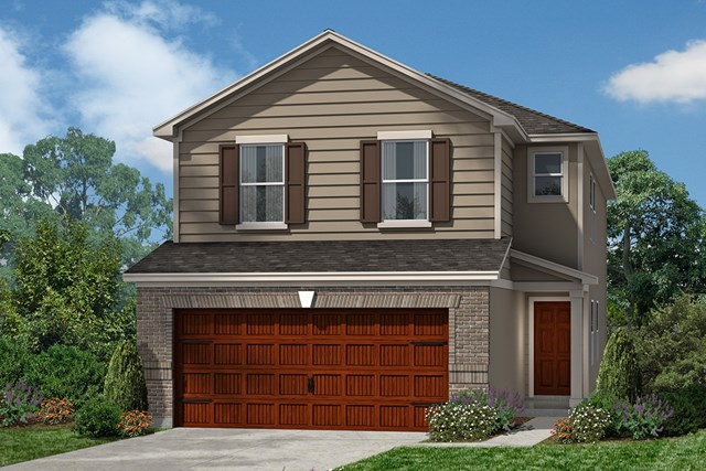 New Homes in Houston, TX - Plan 2080 Elevation D