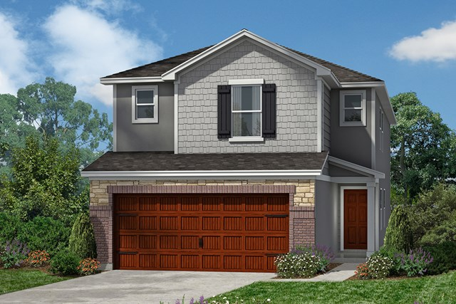 New Homes in Houston, TX - Plan 2080 Elevation E