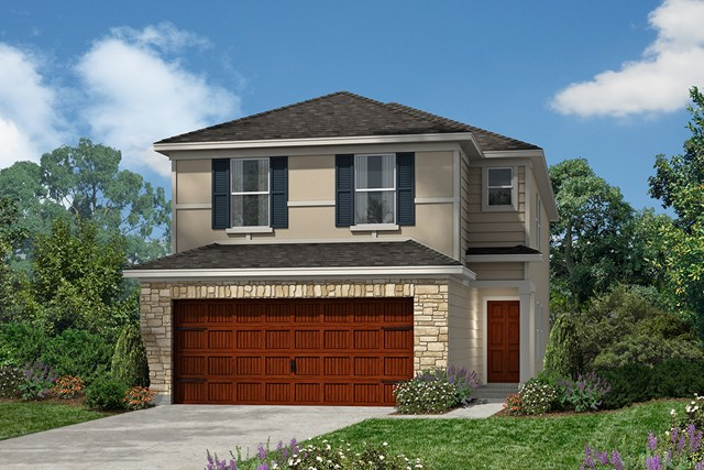 New Homes in Houston, TX - Plan 2080 Elevation F