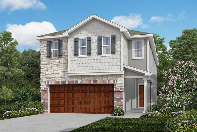 New Homes in Houston, TX - Plan 2211 Elevation E