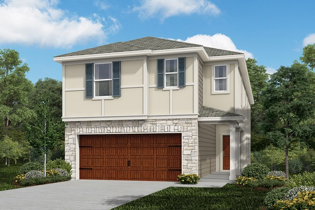 New Homes in Houston, TX - Plan 2211 Elevation F
