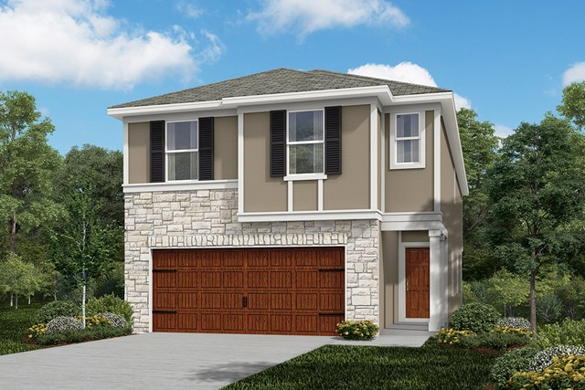 New Homes in Houston, TX - Elevation F