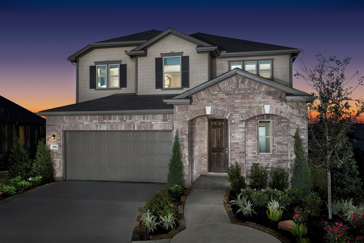 New Homes in Katy, TX - The Meadows at Westfield Village Plan 2526