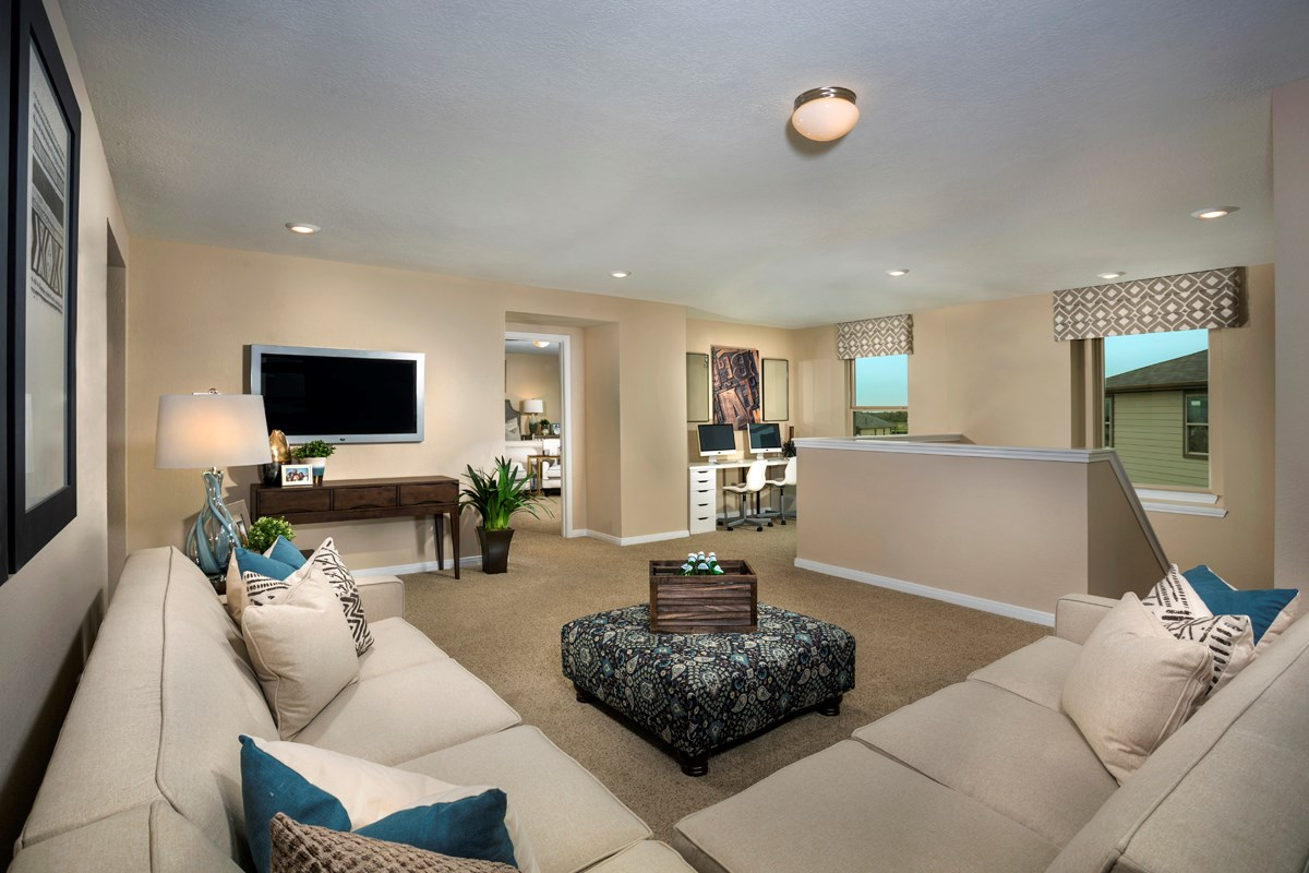 New Homes in Katy, TX - The Meadows at Westfield Village Plan 2526 Loft