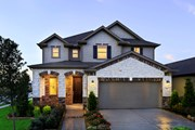 New Homes in Houston, TX - Plan 2526 Modeled