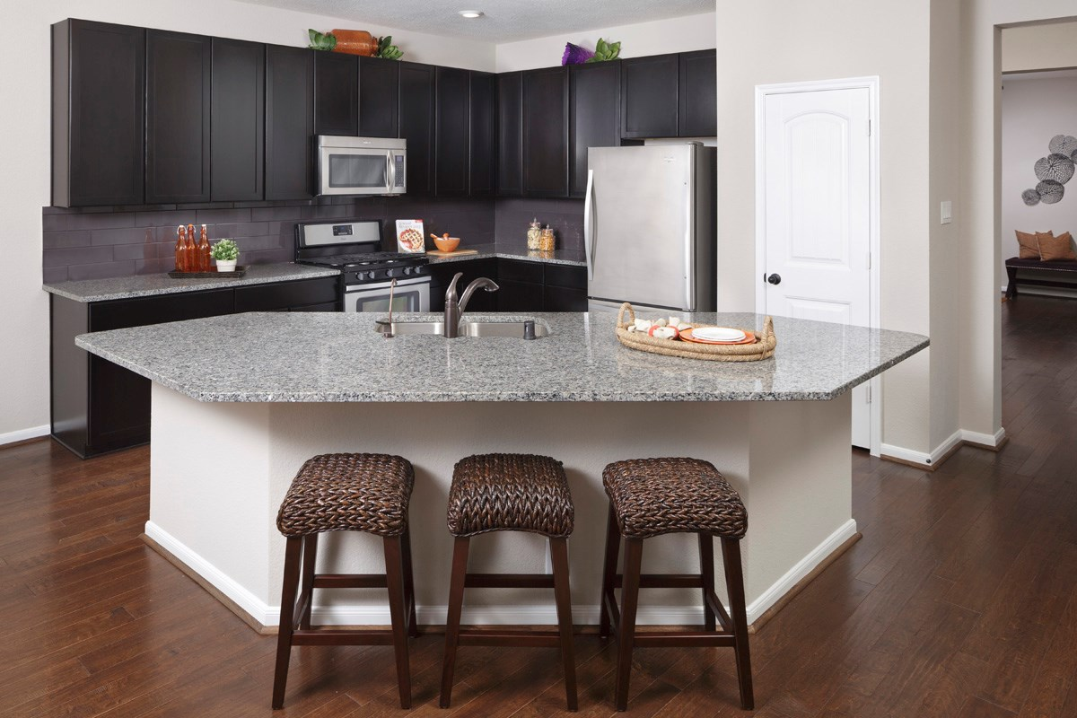 New Homes in Richmond, TX - Williams Ranch Preserve Plan 2715 Kitchen
