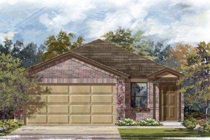 New Homes in New Braunfels, TX - The 1340 C