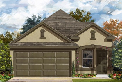 New Homes in San Antonio, TX - Plan 1340 D