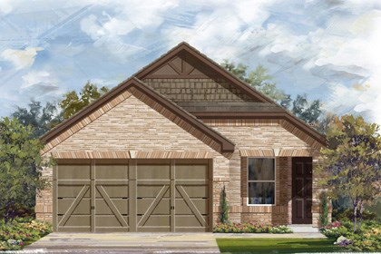 New Homes in San Antonio, TX - Plan 1340 E
