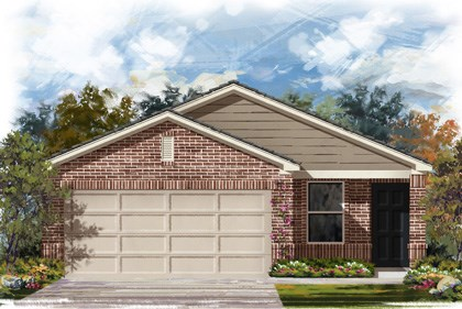 New Homes in New Braunfels, TX - The 1353 C