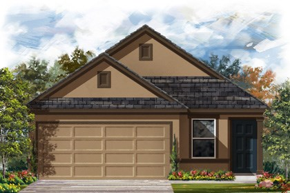 New Homes in New Braunfels, TX - The 1353 D