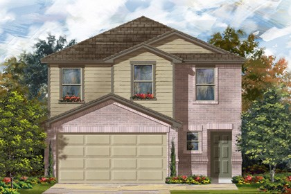New Homes in San Antonio, TX - Plan 1601 C