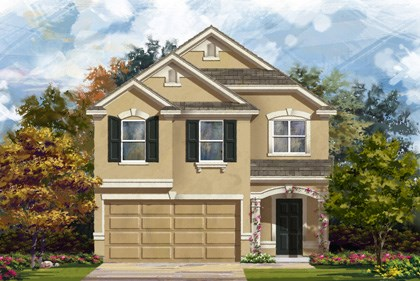 New Homes in San Antonio, TX - Plan 1909 D
