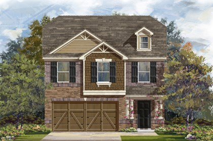 New Homes in San Antonio, TX - Plan 1909 E