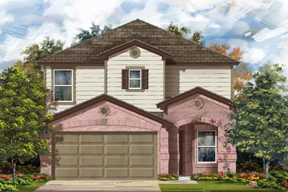 New Homes in San Antonio, TX - Plan 2408 C