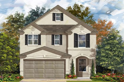 New Homes in San Antonio, TX - Plan 2408 D