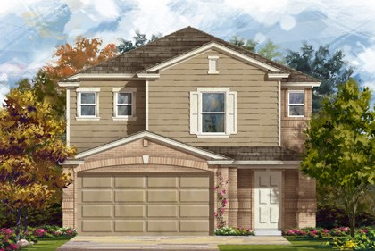 New Homes in San Antonio, TX - Plan 2488 C