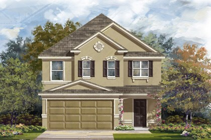 New Homes in San Antonio, TX - Plan 2488 D