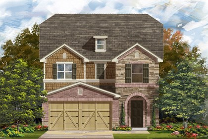 New Homes in San Antonio, TX - Plan 2488 E