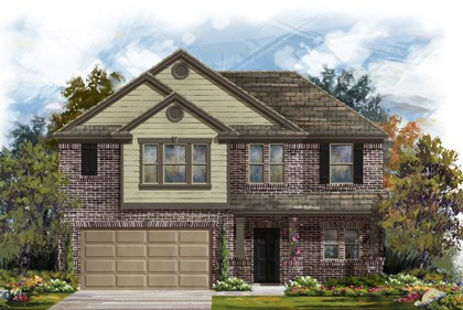 New Homes in Georgetown, TX - Plan A-2183 B