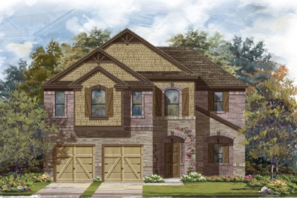 New Homes in Georgetown, TX - Plan A-2183 C