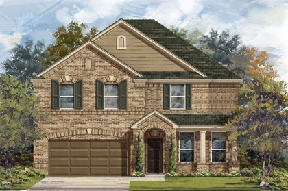 New Homes in Georgetown, TX - Plan A-3125 B