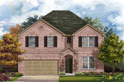 New Homes in Georgetown, TX - Plan A-3125 A