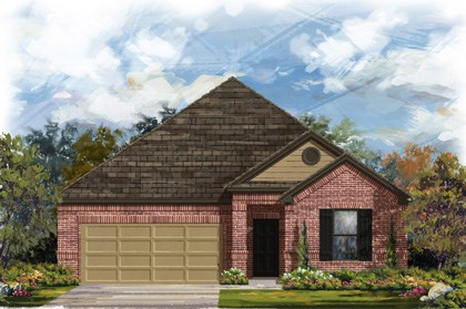 New Homes in Georgetown, TX - Plan A-1852 B