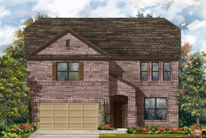 New Homes in Georgetown, TX - Plan A-3417 B