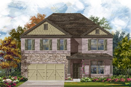 New Homes in Georgetown, TX - Plan A-3417 C