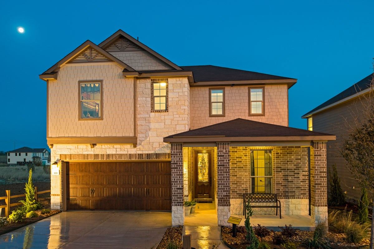 New Homes in New Braunfels, TX - Legend Point The 2403