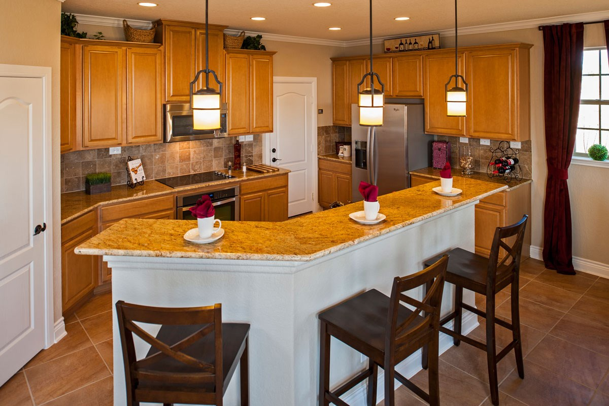 New Homes in New Braunfels, TX - Legend Point The 2403 Kitchen