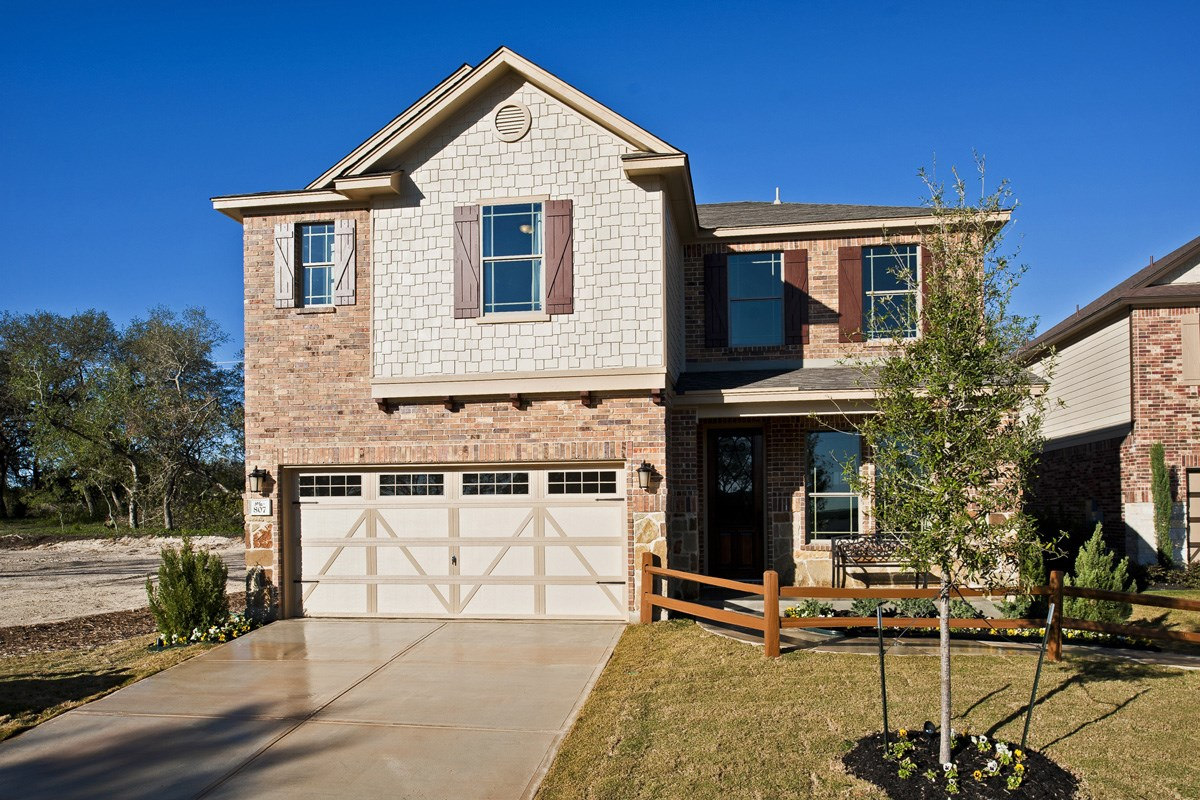 New Homes in Boerne, TX - Trails at Herff Ranch - Sterling Collection The 2561