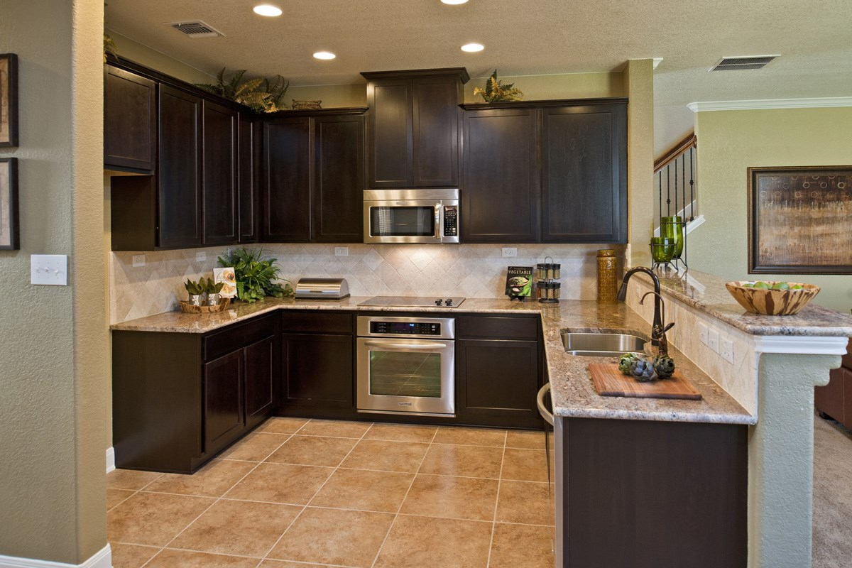 New Homes in Boerne, TX - Trails at Herff Ranch - Sterling Collection The 2561 Kitchen