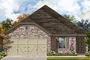 Sterling 1694. Choose from more new built-to-order homes available from KB Home at Trails at Herff Ranch- Sterling Collection in Boerne, TX.