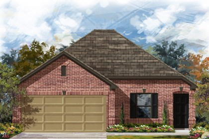 New Homes in San Antonio, TX - 1516 Elevation B