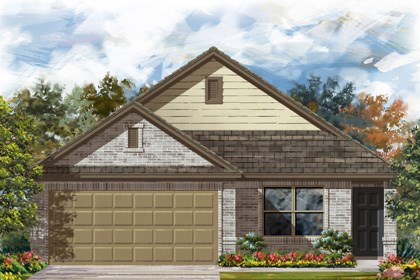 New Homes in San Antonio, TX - 1516 Elevation C
