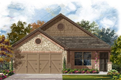 New Homes in San Antonio, TX - 1516 Elevation D