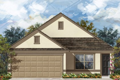New Homes in San Antonio, TX - 1516 Elevation E