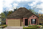 New KB Home built-to-order homes available at CrossCreek in San Antonio, TX. Plan E-1591 is one of many floor plans to choose from.