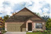 New KB Home built-to-order homes available at The Reserve at Southton Ranch in San Antonio, TX. Plan 1591 is one of many floor plans to choose from.