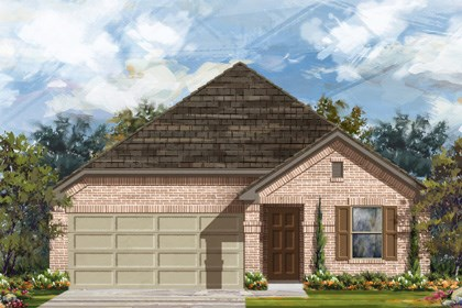 New Homes in Converse, TX - Plan 1647 B
